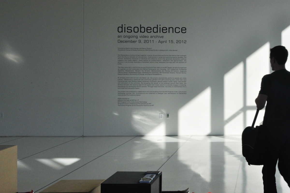 Disobedience-an ongoing video archive